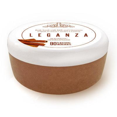 Скраб для тела с молоком и корицей Соблазн Leganza