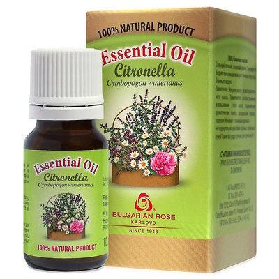 Эфирное масло Цитронелла Роза Карлово 10 ml