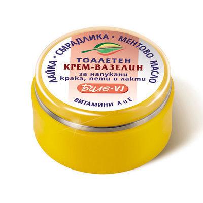 Крем- вазелин Биле VJ для потрескавшейся кожи рук, ног и локтей Боди-Д 40 ml