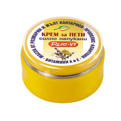 Крем- вазелин Биле VY для сильно потрескавшихся пяток Боди-Д 40 ml