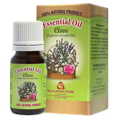 Эфирное масло гвоздичное Роза Карлово 10 ml