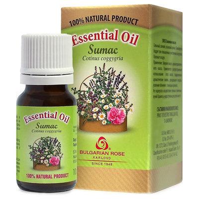 Эфирное масло Сумах (Скумпия) Роза Карлово 10 ml