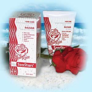 Бальзам для волос Красная Роза SeaStars Природная косметика 120 ml