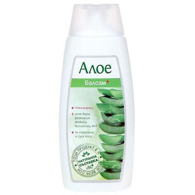 Бальзам для волос тонизирующий для нормальных и сухих волос с алоэ Вера Роза Импекс 200 ml