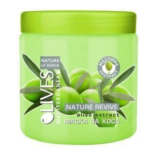 Маска для сухих волос Olives Mediterranean Agiva 500 ml
