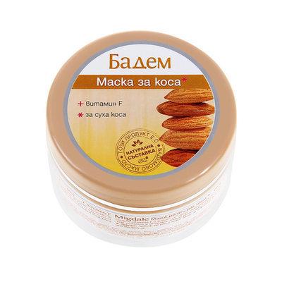 Маска с витамином F для сухих волос Бадем (миндаль) Роза Импекс 250 ml