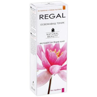 Тоник освежающий с экстрактом Ромашки и Водяной Лилии Regal Naturel Beauty Роза Импекс 200 ml