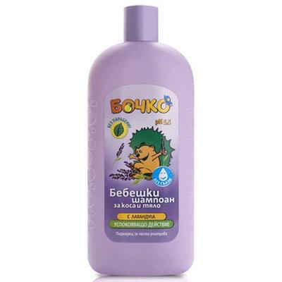 Шампунь для волос и тела с экстрактом лаванды Лавена Baby Ёжик 400 ml