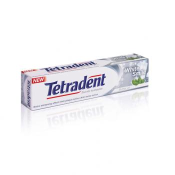 Зубная паста Tetradent Белоснежная улыбка Лавена 75 ml
