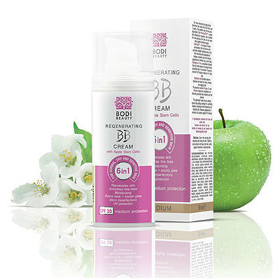 Регенерирующий BB крем 6 в 1 для нормальной, сухой и чувствительной кожи Medium 2 Боди-Д 30 ml