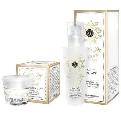 Тоник для лица Lady`s Joy Luxury 160 ml + Крем для кожи вокруг глаз Lady`s Joy Luxury 15 ml