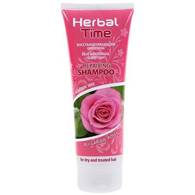 Восстанавливающий шампунь Роза  Herbal Time Роза Импекс 250 ml