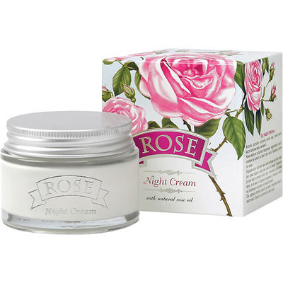 Крем для лица ночной Rose для всех типов кожи Болгарская Роза Карлово 50 ml