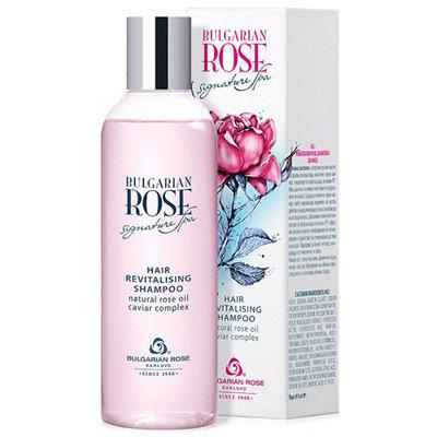 Восстанавливающий шампунь для волос Bulgarian Rose Signature Spa Болгарская Роза Карлово 200 ml