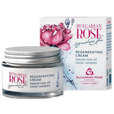 Восстанавливающий крем для лица Bulgarian Rose Signature Spa Болгарская Роза Карлово 50 ml