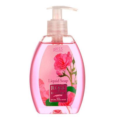Жидкое мыло с розовой водой Rose of Bulgaria Роза Болгарии 300 ml