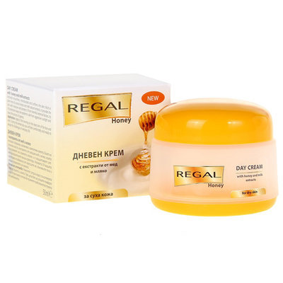 Крем для лица дневной с экстрактами из меда и молока Regal Honey Роза Импекс 50 ml