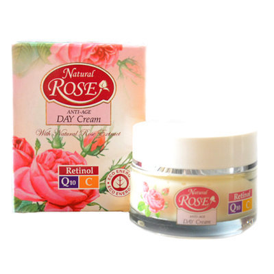 Крем для лица дневной Anti-Age Natural Rose Q10 45+ Arsy Cosmetics 50 ml