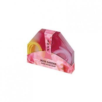 Натуральное мыло ручной работы (5 шт) Розарий Роза Болгарии