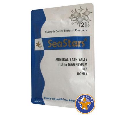 Кристальная морская соль Мёд SeaStars Природная косметика