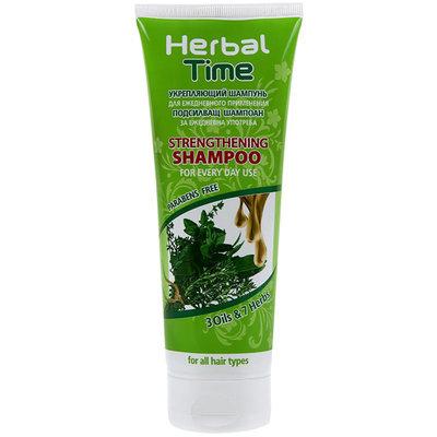 Укрепляющий шампунь для всех типов волос Herbal Time Роза Импекс 250 ml