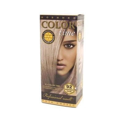 Гель- краска для волос Жемчужно- русый Color Time Роза Импекс 100 ml