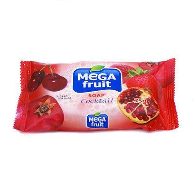 Мыло натуральное Megafruit красный коктейль 75 gr