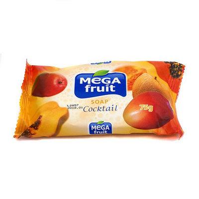 Мыло натуральное Megafruit оранжевый коктейль 75 gr
