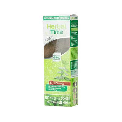 Крем-хна для волос Шоколад Herbal Time Роза Импекс 75 ml