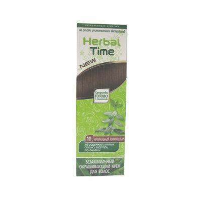 Крем-хна для волос Натуральный коричневый Herbal Time Роза Импекс 75 ml