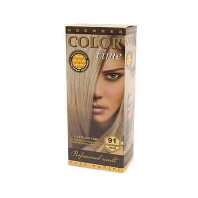 Гель- краска для волос Платиново- русый Color Time Роза Импекс 100 ml