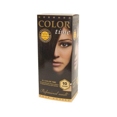 Гель- краска для волос Черный Color Time Роза Импекс 100 ml