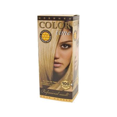 Гель- краска для волос Супер блонд Color Time Роза Импекс 100 ml