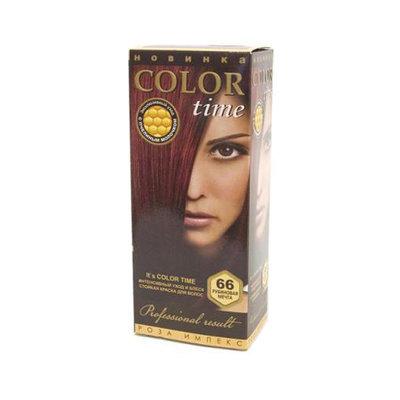 Гель- краска для волос Рубиновая мечта Color Time Роза Импекс 100 ml