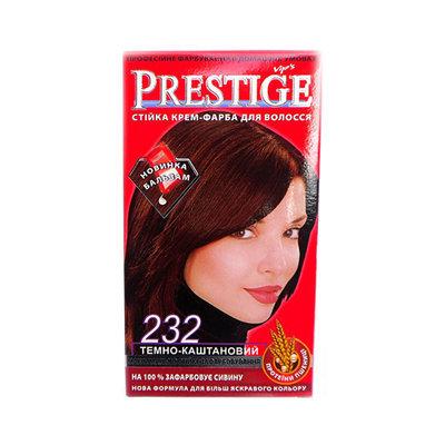 Крем-краска для волос Темно- каштановый Vip's Prestige Роза Импекс 100 ml