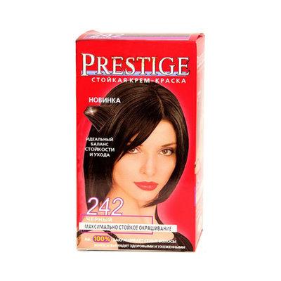 Крем-краска для волос Черный Vip's Prestige Роза Импекс 100 ml