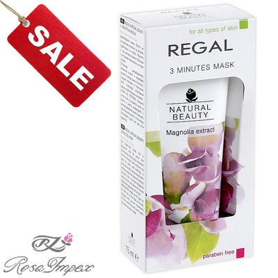 Маска для всех типов кожи Regal Beauty Роза Импекс 75 ml
