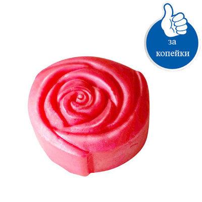Натуральное мыло ручной работы Цветок розы Роза Болгарии 50 gr