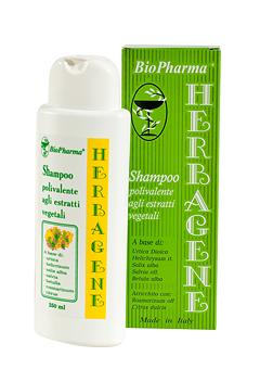 Шампунь Herbagene против выпадения волос Bio Pharma 250 ml
