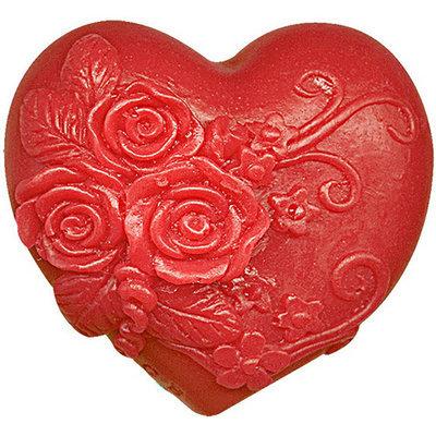 Глицериновое мыло Влюбленное сердце красный 65 gr