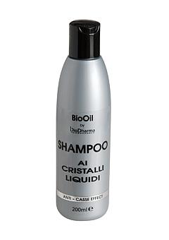 Шампунь Bio Oil с жидкими кристаллами против сечения и расщепления кончиков волос Bio Pharma 200 ml