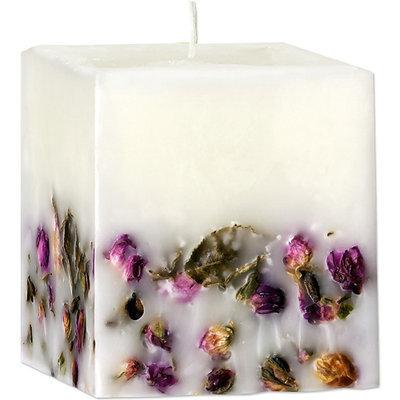 Ароматическая свеча с эфирным маслом Розы
