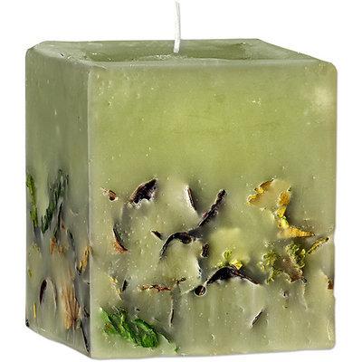 Ароматическая свеча с эфирным маслом пачули