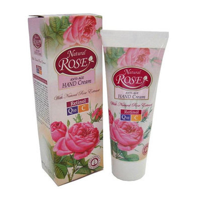 Интенсивный крем для рук Anti-Age Natural Rose Q10 45+ Arsy Cosmetics 75 ml