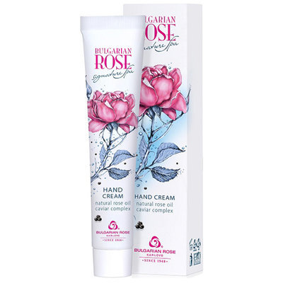 Крем для рук Bulgarian Rose Signature Spa Болгарская Роза Карлово 50 ml