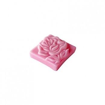 Натуральное мыло квадрат Роза Болгарии