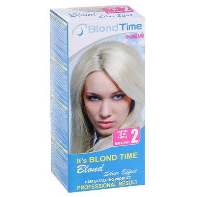 Осветляющий продукт для волос Blond Silver effect Blond time Роза Импекс 135 ml