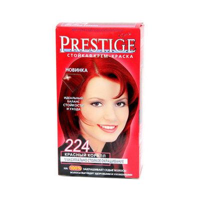 Крем-краска для волос красный Коралл Vip's Prestige Роза Импекс 100 ml