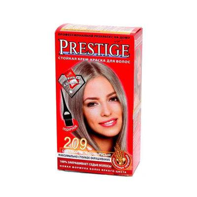 Крем-краска для волос Светлый пепельно- русый Vip's Prestige Роза Импекс 100 ml