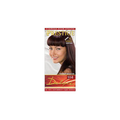 Крем- краска для волос Теплый махагон Prestige Deluxe Роза Импекс 140 ml